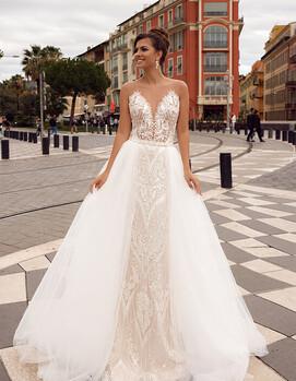 дизайнерское свадебное платье в украине