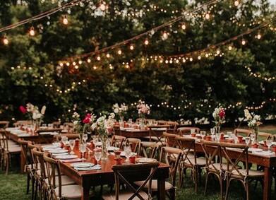 Свадьба в садовом стиле: советы и примеры стилизации