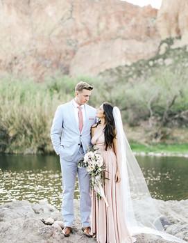 свадьба в розово-голубых цветах