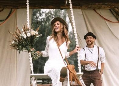 Свадебные платья в стиле Бохо: фотоподборка от YesYes