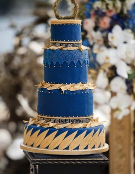 свадьба в греческом стиле ,торт в греческом стиле