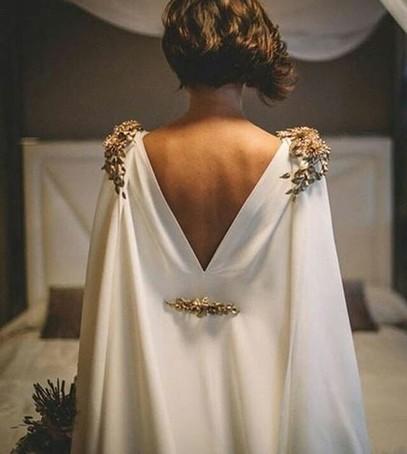 свадебное платье накидка