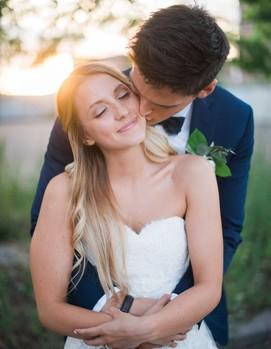 молодожёны, невеста, жених