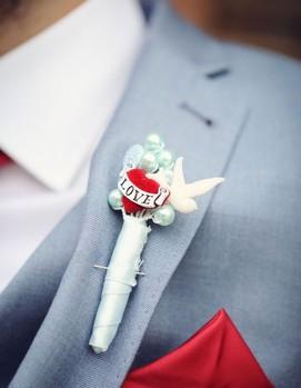 костюм жениха в ретро стиле