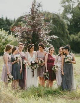 невеста, дружки, свидетельницы на свадьбу