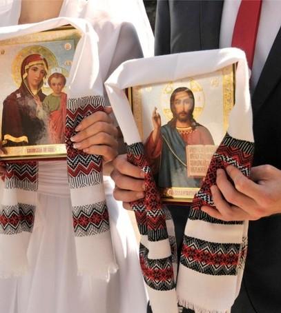 украинский рушник, рушник на свадьбу, рушник для венчания, вышитый рушник на свадьбу