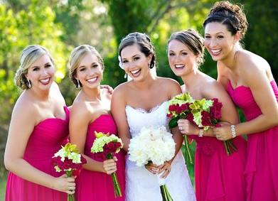 Цвет свадьбы – насыщенная Фуксия
