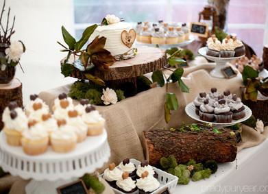 Подставка для торта в стиле Рустик своими руками