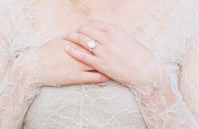 Обручальное кольцо невесты