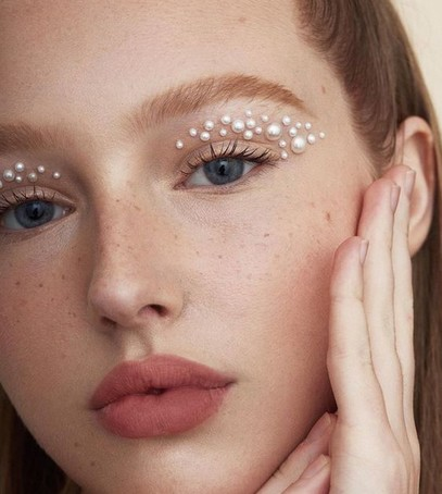 необычный макияж для невесты