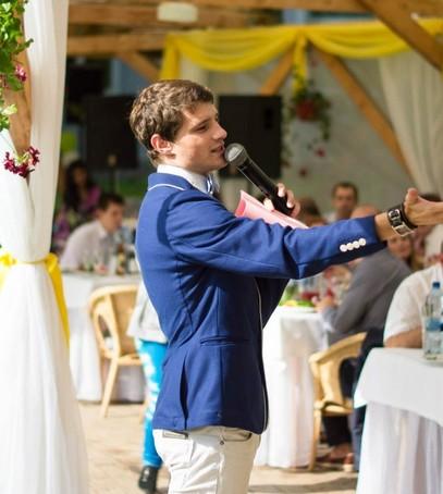 Посоветуем ведущего на свадьбу