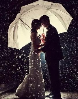 Посмотреть прогноз погоды на день свадьбы.