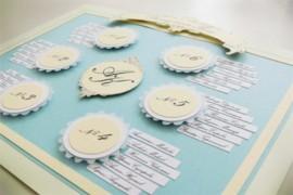 Составить план рассадки гостей за свадебным столом.