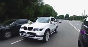 BMW X5 - авто на свадьбу в Хмельницком - портфолио 2
