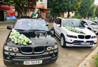 Шурик Весільний Кортеж BMW X5 - фото 1
