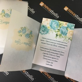 NOVAstudio - пригласительные на свадьбу в Черновцах - портфолио 4