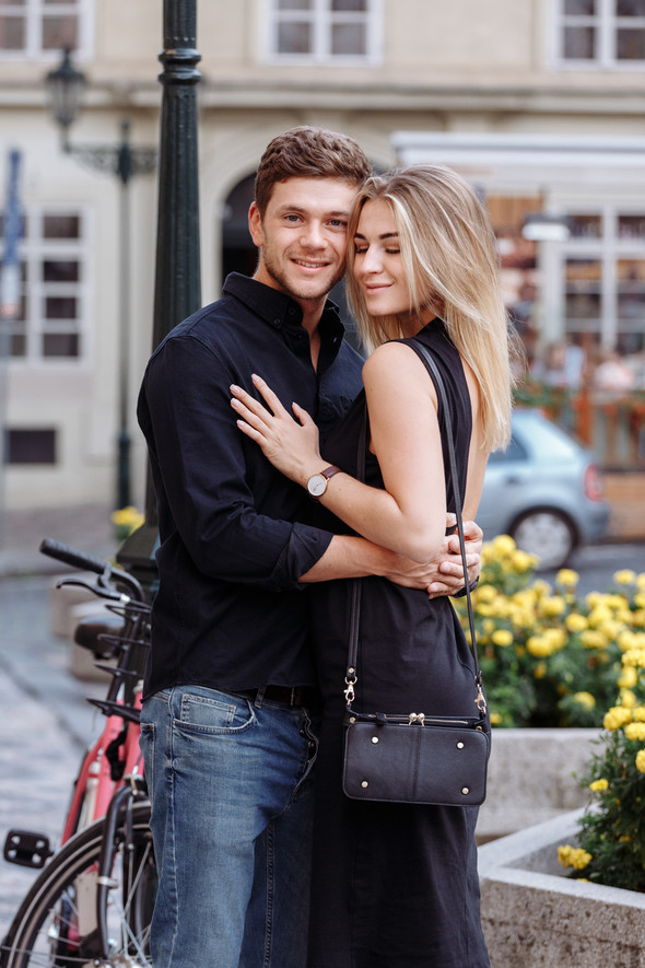 Maksim & Elena. Love Story in Prague - фото №25