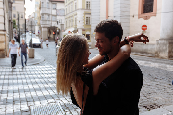 Maksim & Elena. Love Story in Prague - фото №20