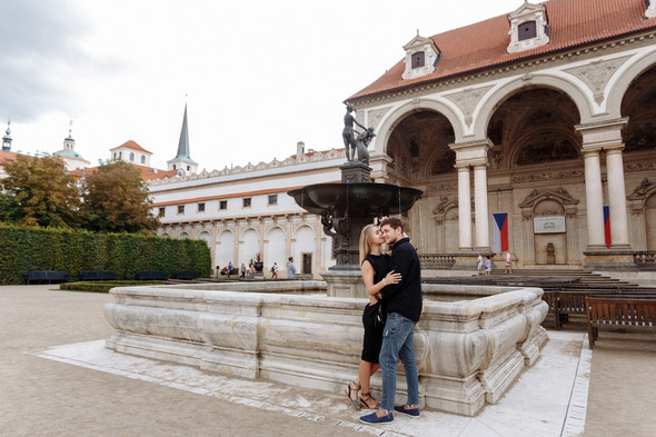 Maksim & Elena. Love Story in Prague - фото №14