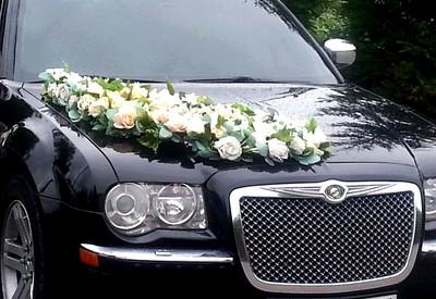 Василь Chrysler 300с на свадьбу - фото 1