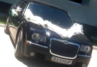 Василь Chrysler 300с на свадьбу - фото 2