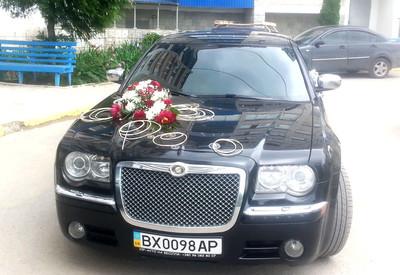 Василь Chrysler 300с на свадьбу - фото 3