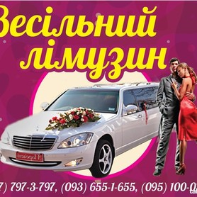 Лімузин Mercedes-Benz W-221 - авто на свадьбу в Ивано-Франковске - портфолио 1