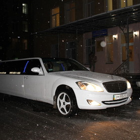 Лімузин Mercedes-Benz W-221 - авто на свадьбу в Ивано-Франковске - портфолио 4