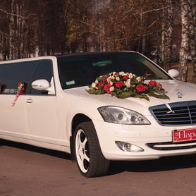 Лімузин Mercedes-Benz W-221 - авто на свадьбу в Ивано-Франковске - портфолио 2
