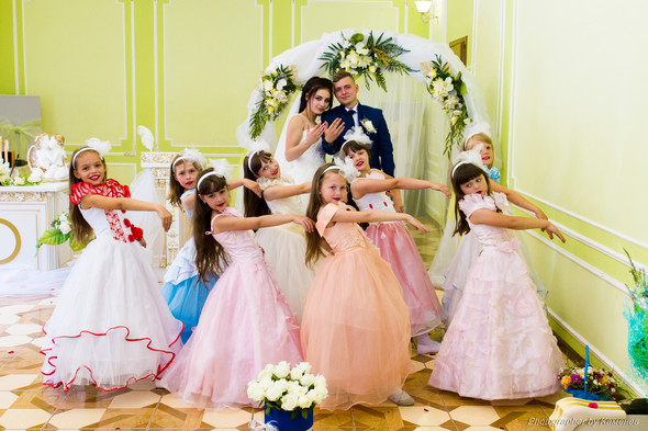 Свадьба в Краматорске парк Бернадского - фото №43