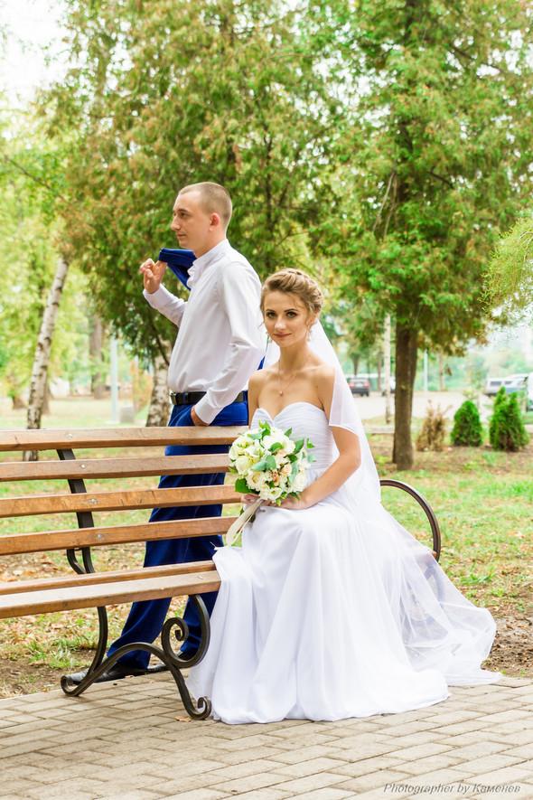 Свадьба в Краматорске парк Бернадского - фото №3