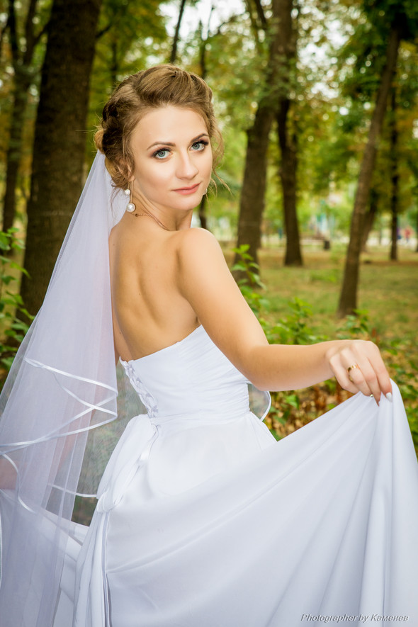 Свадьба в Краматорске парк Бернадского - фото №17