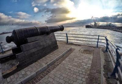 Набережная речного порта - фото 1