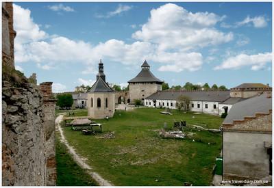 Меджибожский замок - фото 1