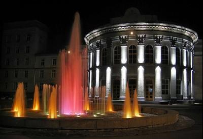 Цветомузыкальный фонтан - фото 1