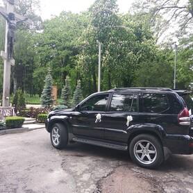 Toyota Land Cruiser Prado - авто на свадьбу в Виннице - портфолио 5