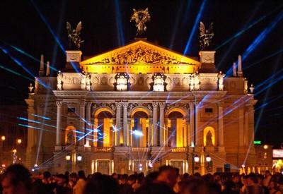 Театр оперы и балета им. Крушельни́цкой - портфолио 1