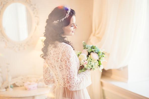 Студийная съёмка.Утро невесты - фото №7