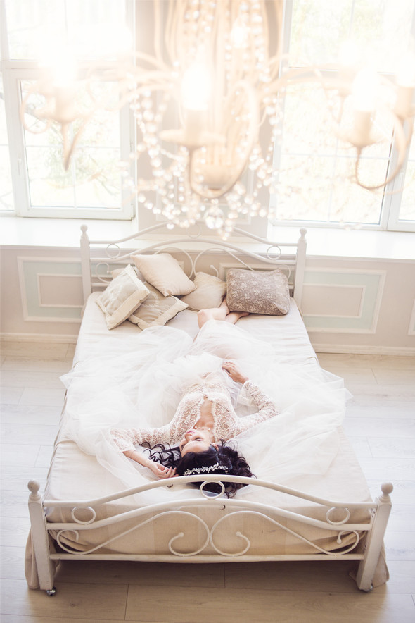 Студийная съёмка.Утро невесты - фото №10
