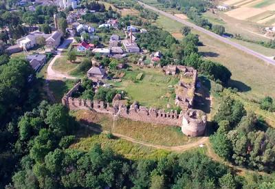 Микулинецкий замок - портфолио 1