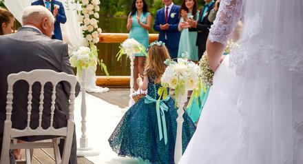 Профессиональная фото съёмка выездной церемонии.