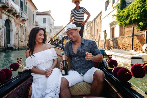 Аня и Андрей. Венеция - фото №60