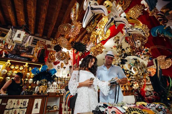 Аня и Андрей. Венеция - фото №26