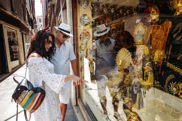 Аня и Андрей. Венеция - фото №24