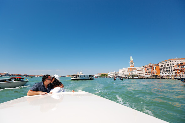 Аня и Андрей. Венеция - фото №46