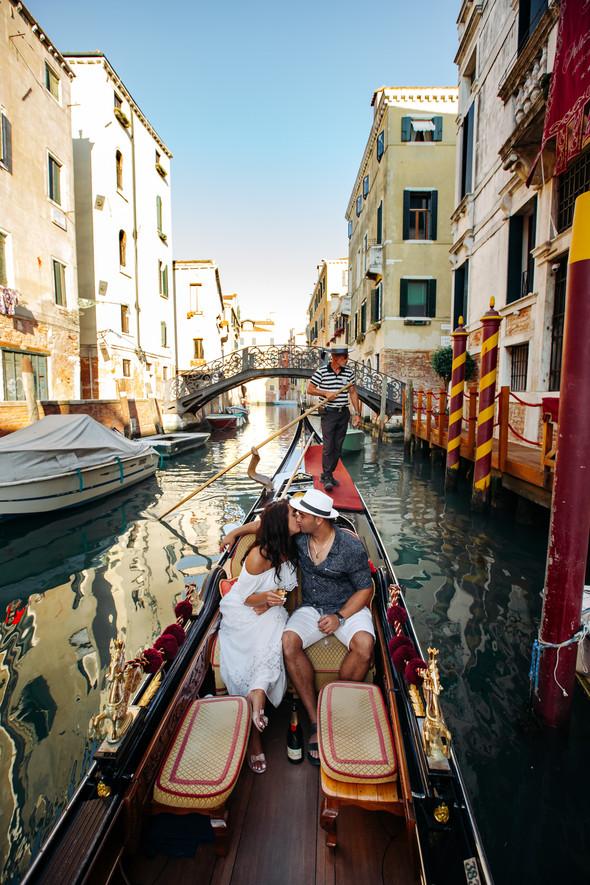 Аня и Андрей. Венеция - фото №63