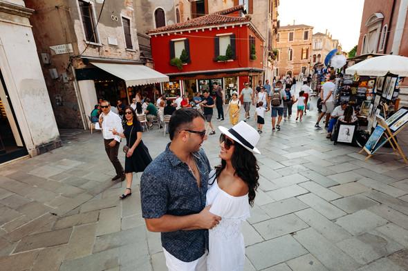 Аня и Андрей. Венеция - фото №65