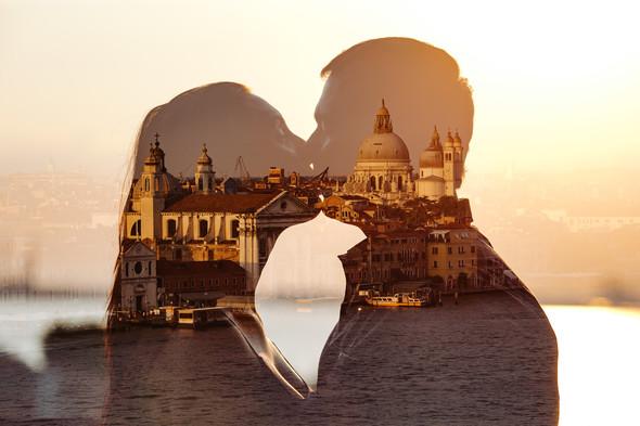 Аня и Андрей. Венеция - фото №80