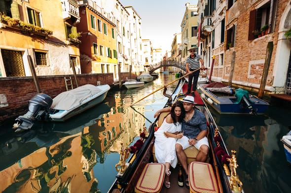 Аня и Андрей. Венеция - фото №64