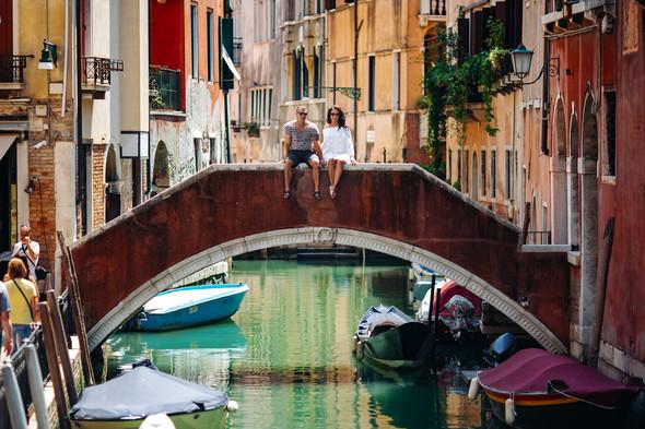 Аня и Андрей. Венеция - фото №70